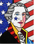 Romero Britto Art Romero Britto Art George Washington (SN)