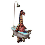 Carlos and Albert Carlos and Albert Giraffe in Bathtub (Mini)
