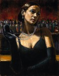 Fabian Perez Fabian Perez Gloves and Pearls