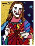 Romero Britto Art Romero Britto Art God