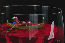 Michael Godard Art & Prints Michael Godard Art & Prints Gondola Grapes (AP)