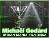 Michael Godard Art & Prints Michael Godard Art & Prints Mixed Media Originals