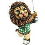Carlos and Albert Carlos and Albert Golfing Lion