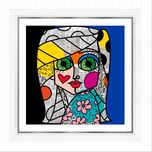 Romero Britto Art Romero Britto Art Green Eyes