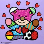 Romero Britto Art Romero Britto Art Happy Girl (SN)