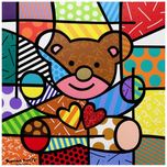 Romero Britto Art Romero Britto Art Happy (Bear) (Framed)