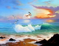 Jim Warren Fine Art Jim Warren Fine Art High Tide