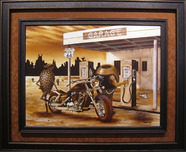 Michael Godard Michael Godard Historic Route 66 - Original Painting
