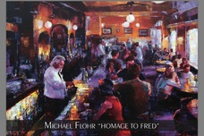 Michael Flohr Art Michael Flohr Art Homage to Fred (20 x 30)
