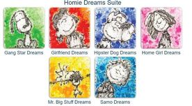 Tom Everhart prints Tom Everhart prints Homie Dreams (Suite of 6)