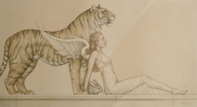 Michael Parkes Art Michael Parkes Art Hope