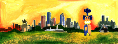 Alexandra Nechita Alexandra Nechita Love Anatomy 2- Houston Skyline