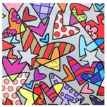 Romero Britto Art Romero Britto Art Huge 1