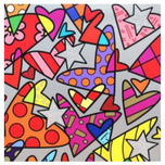 Romero Britto Art Romero Britto Art Huge 3