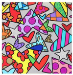 Romero Britto Art Romero Britto Art Huge 4