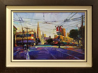 Michael Flohr Art Michael Flohr Art I Left my Heart in San Francisco - Original (Framed)
