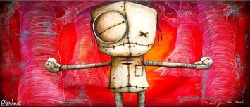 Fabio Napoleoni Fabio Napoleoni I Love You This Much (Metal Art Print)