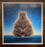 Robert Bissell Art Robert Bissell Art Sage of the Night - Deluxe (Framed)