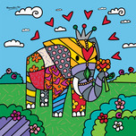 Romero Britto Art Romero Britto Art India (SN)