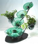 Tranquility Glass Fountains Tranquility Glass Fountains Ivy Falls Fountain
