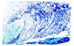 Tom Everhart prints Tom Everhart prints Jean Michel's Wake