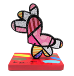Romero Britto Art Romero Britto Art Jeweled Flying Heart (Hand Embellished)