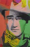 James Gill James Gill John Wayne Green (Framed)
