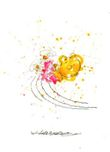 Tom Everhart prints Tom Everhart prints Kicked Off (SN) - Pink