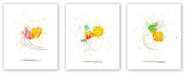 Tom Everhart prints Tom Everhart prints Kicked Off (PP)
