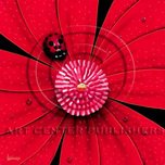 Michael Godard Art & Prints Michael Godard Art & Prints Ladybug, Red Flower