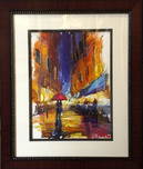 Michael Flohr Art Michael Flohr Art Larimer Lights - Original (Framed)