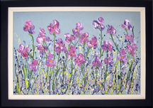 Gloria Lee Gloria Lee Lavender Love (framed)