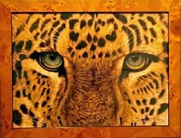 Jacquie Vaux Jacquie Vaux Eyes of the Persian Leopard - Framed