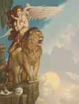 Michael Parkes Art Michael Parkes Art Lion's Return
