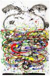 Tom Everhart Prints Tom Everhart Prints Little Fancy - Blue