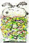 Tom Everhart prints Tom Everhart prints Little Fancy - Green