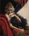 Fabian Perez Fabian Perez Lori on the Couch