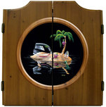 Michael Godard Art & Prints Michael Godard Art & Prints Dart Cabinet - Lost in Paradise