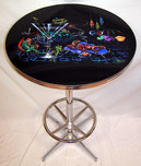 Michael Godard Art & Prints Michael Godard Art & Prints Bar Table - Lounge Lizard