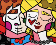 Romero Britto Art Romero Britto Art Love