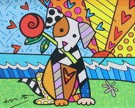 Romero Britto Art Romero Britto Art Lovely (SN)