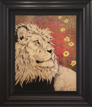 Daniel Ryan Daniel Ryan Majestic Courage (Original, Framed)