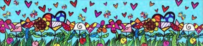 Romero Britto Art Romero Britto Art Magic Garden (SN)
