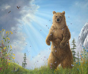 Robert Bissell Art Robert Bissell Art Majesty (AP Hand-Enhanced)