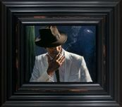 Fabian Perez Fabian Perez Man in White Suit II