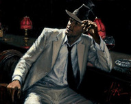 Fabian Perez Fabian Perez Man in White Suit V