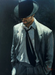 Fabian Perez Fabian Perez Man in White Suit IV