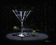 Michael Godard Art & Prints Michael Godard Art & Prints Matrix Martini (AP)