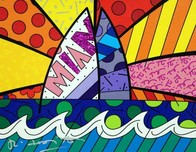 Romero Britto Art Romero Britto Art Miami (SN)