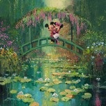 James Coleman James Coleman Mickey and Minnie at Giverny